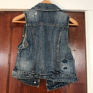American Eagle Outfitters Jackets & Coats - American Eagle Outfitters Denim Vest